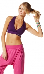 Zumba Hang Loose Harem Pants Pink Blue Black and Gray