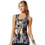 Zumba love me or loose me Top Gray