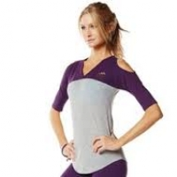 Zumba Outta the park Baseball Tee Purple
